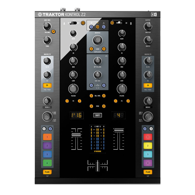 Native Instruments Traktor Kontrol Z2 DJ-контроллер
