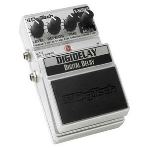 DIGITECH XDD DIGIDELAY 4-SECOND DIGITAL DELAY Педаль эффектов