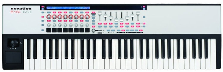 Novation 61 SL MkII USB MIDI-клавиатура