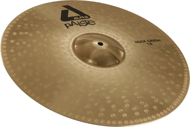 "PAISTE 17"" Rock Crash Alpha Тарелка"