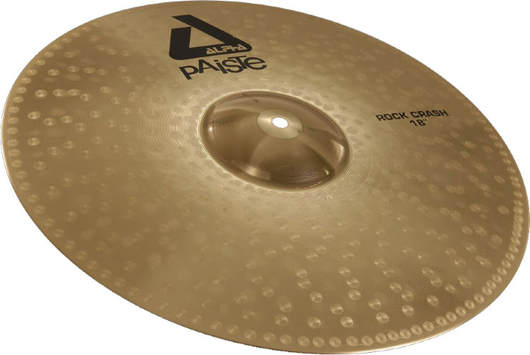 "PAISTE 18"" Rock Crash Alpha Тарелка"
