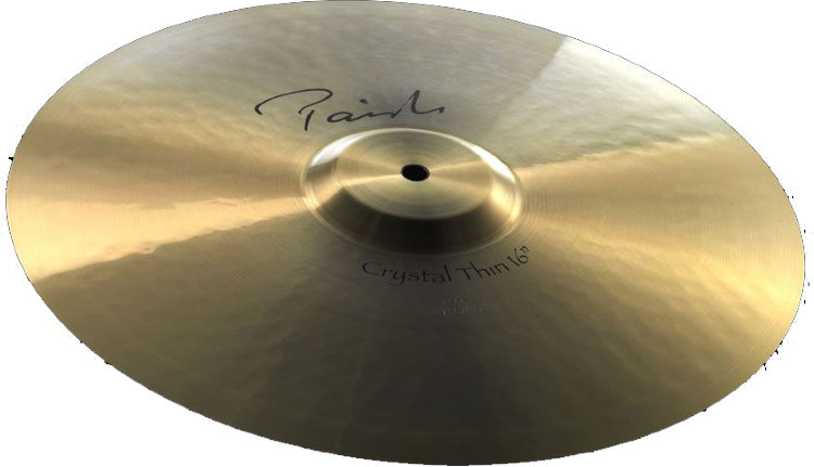 "PAISTE 16"" Crystal Thin (Crash) Signature Тарелка"