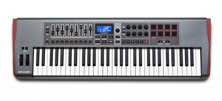 Novation Impulse 61 MIDI-клавиатура