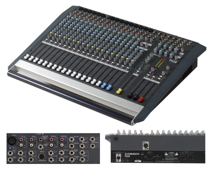 Allen&Heath PA20 Микшерный пульт