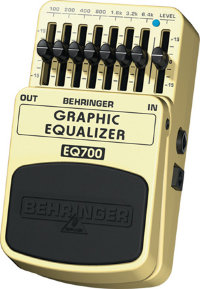 BEHRINGER EQ700 Graphic equalizer Педаль эффектов