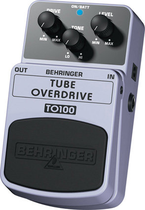 BEHRINGER TO100 Tube overdrive Педаль эффектов