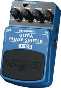 BEHRINGER UP100 Ultra phase shifter Педаль эффектов
