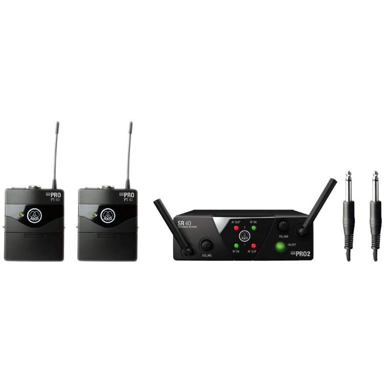 AKG WMS40 Mini2 instr. Set US45A/C Радиосистема