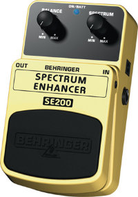 BEHRINGER SE200 Spectrum enhancer Педаль эффектов