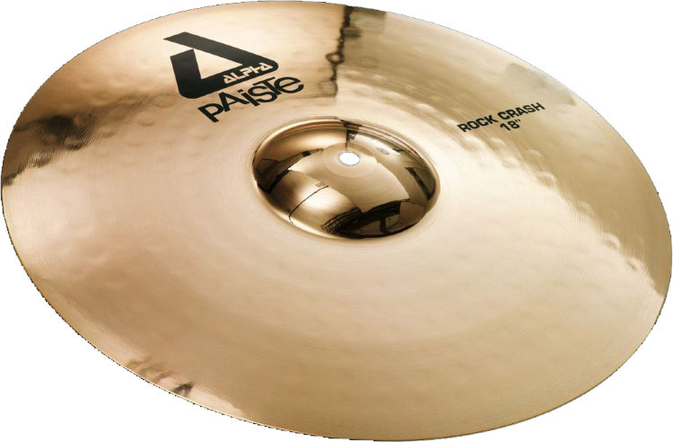 "PAISTE 18"" Alpha B Rock Crash Тарелка"