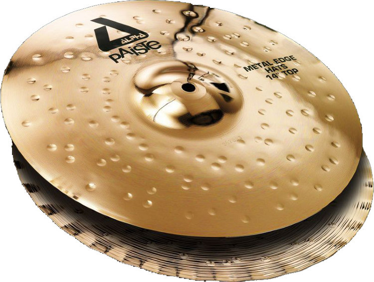 "PAISTE 14"" Alpha B Metal Edge Hats Тарелка"