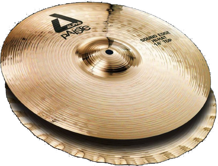"PAISTE 14"" Alpha B Sound Edge Hi-Hat Тарелка"