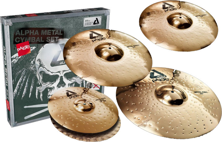PAISTE Alpha B Metal Set Комплект тарелок
