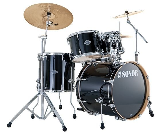 SONOR ESF 11 Stage 1 Set WM 11234 Piano Black Ударная установка