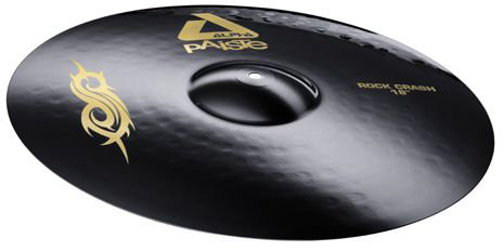 "PAISTE 17"" Rock Crash Alpha BLK Тарелка"
