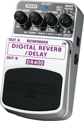 BEHRINGER DR400 Digital reverb/delay Педаль эффектов