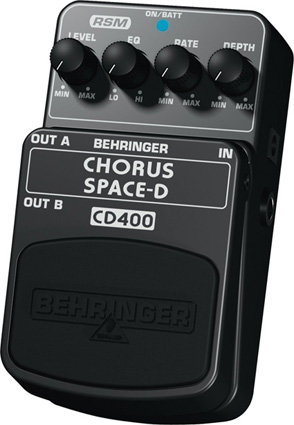 BEHRINGER CD400 Chorus space-d Педаль эффектов