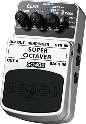 BEHRINGER SO400 Super octaver Педаль эффектов