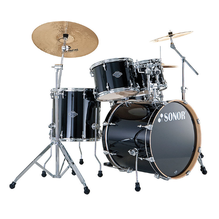 SONOR SEF 11 Stage 1 Set WM 11234 Piano Black Ударная установка