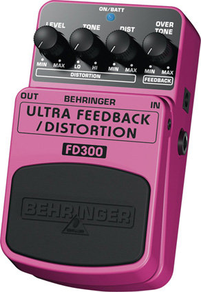 BEHRINGER FD300 Ultra feedback/distortion Педаль эффектов