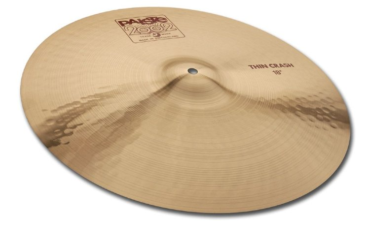 "PAISTE 17"" Thin Crash 2002 Тарелка"