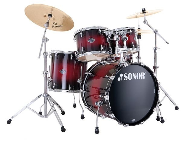 SONOR SEF 11 Stage 1 Set WM 13076 Red Sparkle Burst Ударная установка