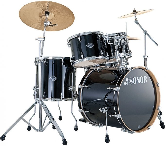 SONOR SEF 11 Stage 2 Set WM 11234 Piano Black Ударная установка