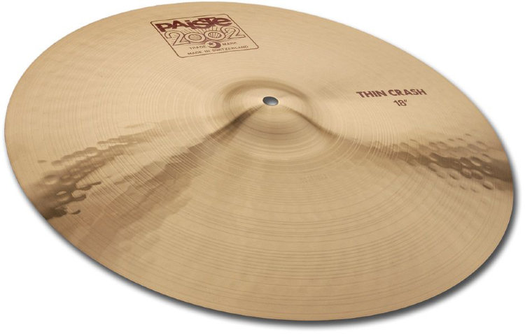 "PAISTE 19"" Thin Crash 2002 Тарелка"