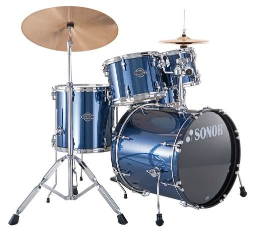 SONOR SMF 11 Stage 1 Set WM 13004 Brushed Blue Ударная установка