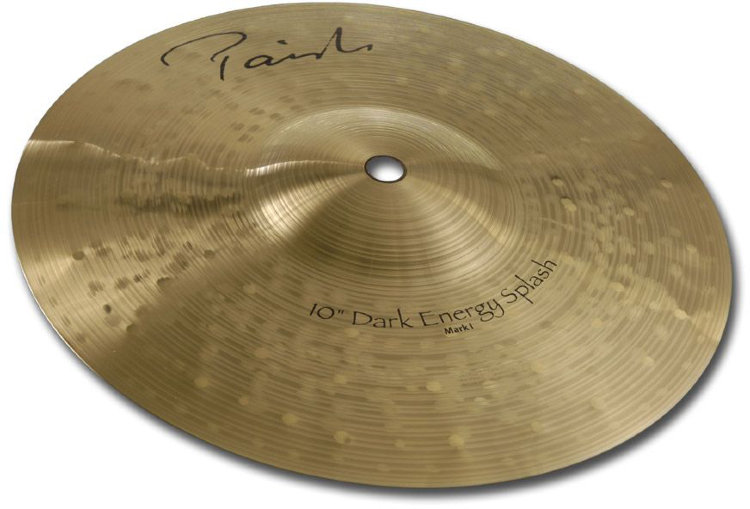 "PAISTE 10"" Splash Mark I (New Signature) Dark Energy Тарелка"