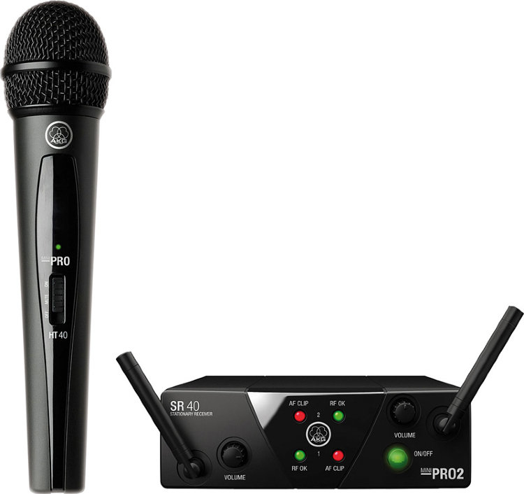 AKG WMS40 Mini Vocal Set BD US45B Радиосистема