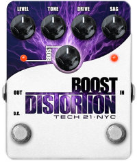 Tech 21 Boost Distortion Педаль эффектов