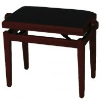 GEWA FX Piano Bench Cherry Tree Matt Black Seat Банкетка