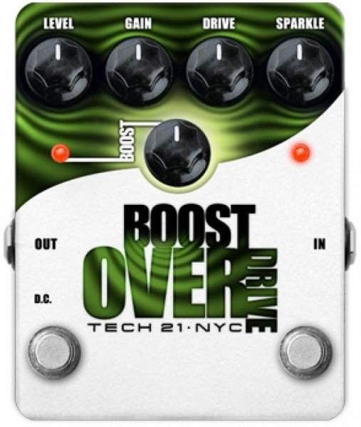 Tech 21 Boost Overdrive Педаль эффектов