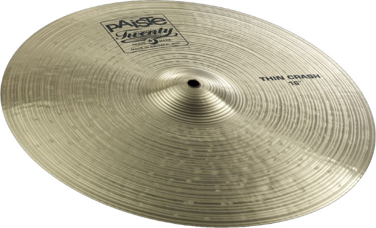 "PAISTE 16"" Thin Crash Twenty Тарелка"