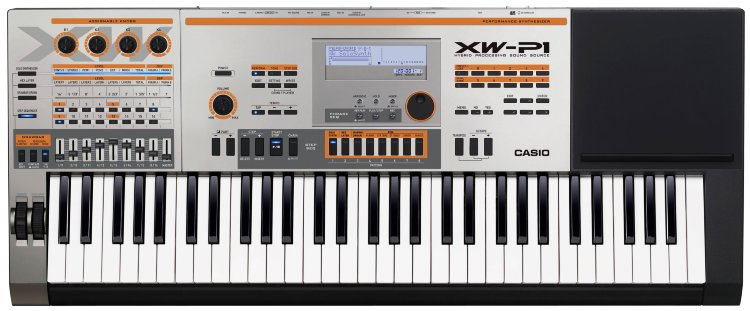CASIO XW-P1 Синтезатор
