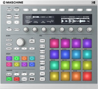 Native Instruments Maschine Mk2 Wht Программно-аппаратный комплекс