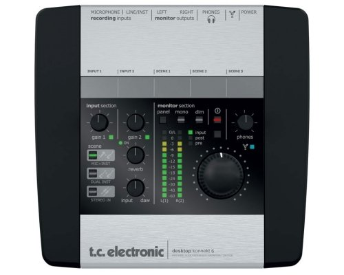 TC electronic Desktop Konnekt 6 Аудиоинтерфейс