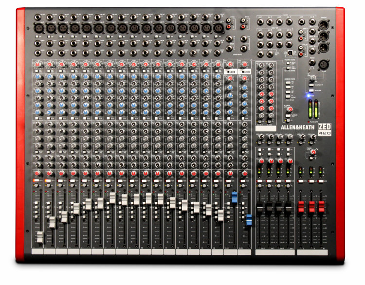 Allen&Heath ZED420 Микшерный пульт